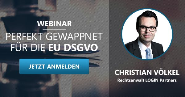 Webinar DSGVO 2018