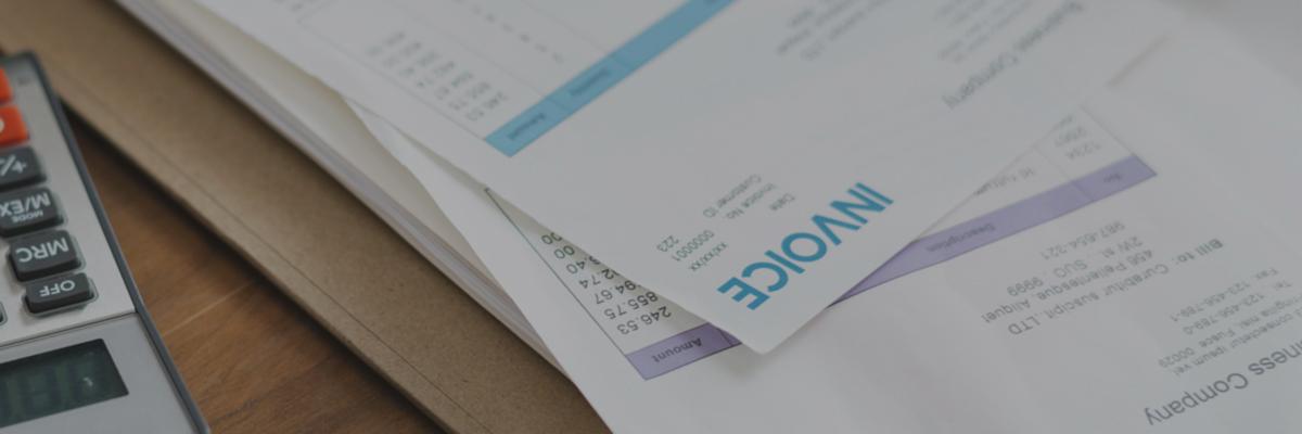 Rechnungen digitalisieren, Invoice