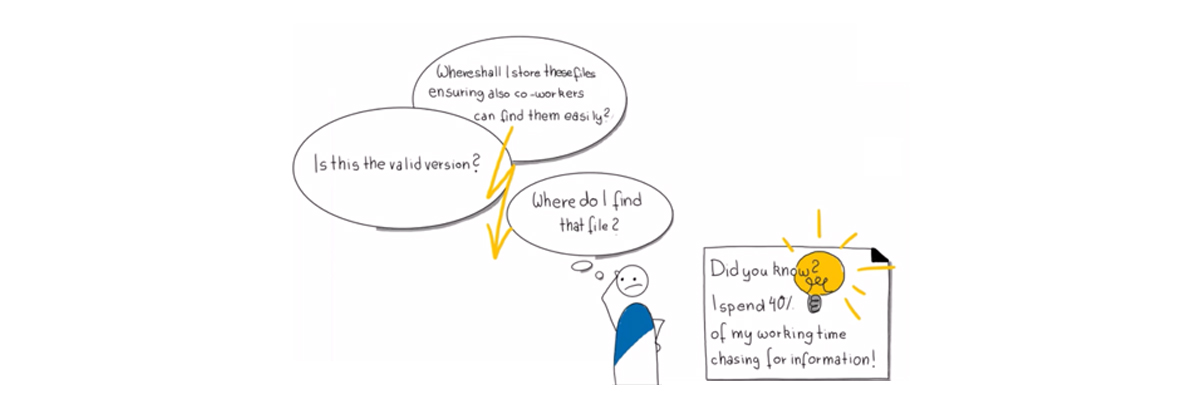 SharePoint & Office 365 Karikatur