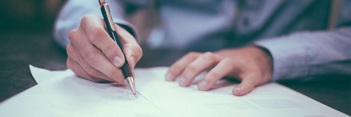 Blog Post zum Thema Verträge online unterschreiben