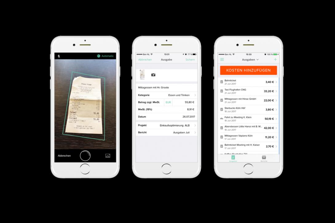 Reisekosten App im Überblick