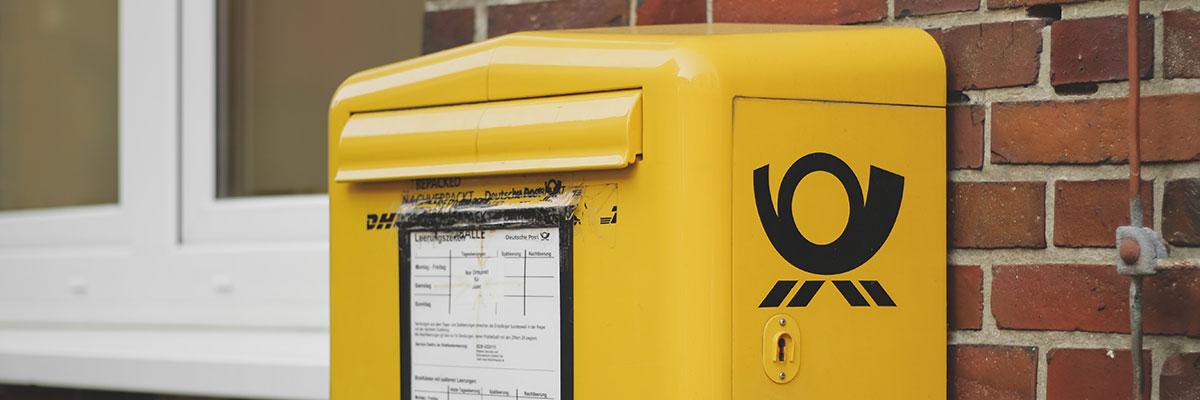 Briefe online versenden anstatt E-Post