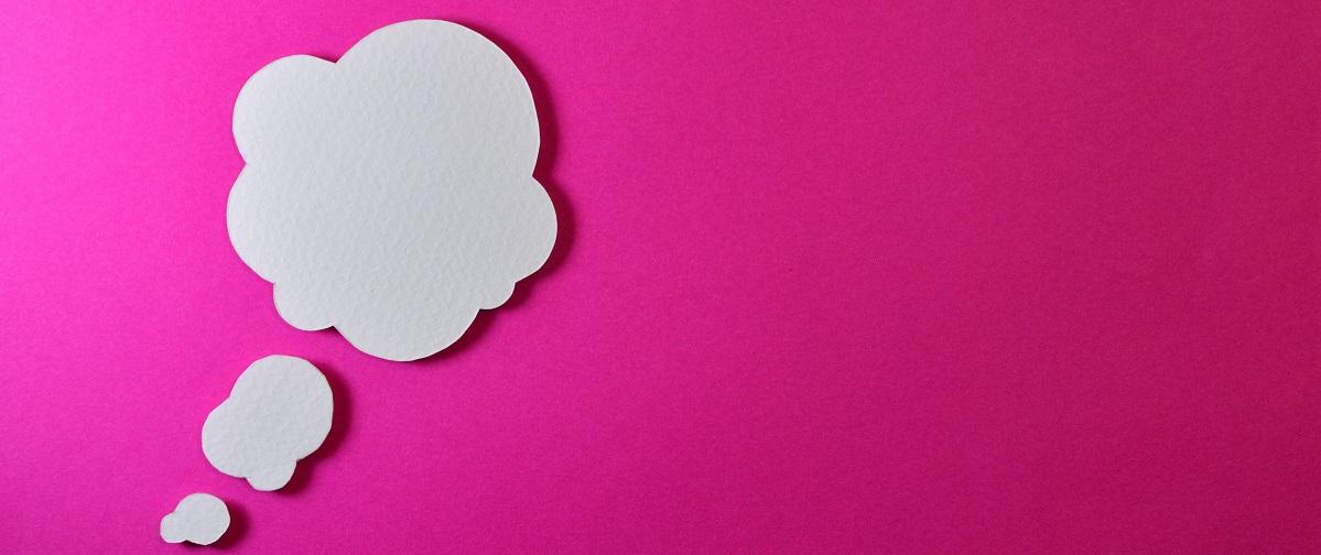 Eine Wolke, die symbolisch für die SAP Cloud steht.