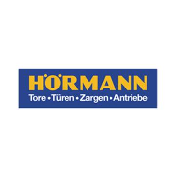 Logo der Hörmann KG mit Sitz im ostwestfälischen Steinhagen