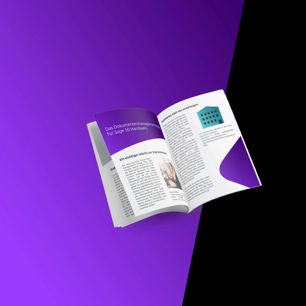 Mehr Informationen Dokumentenmanagement für Sage 50 Handwerk