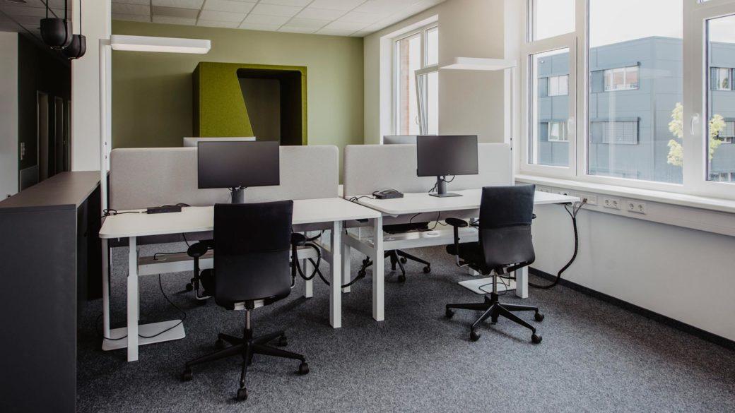 d.velop campus coworking desk