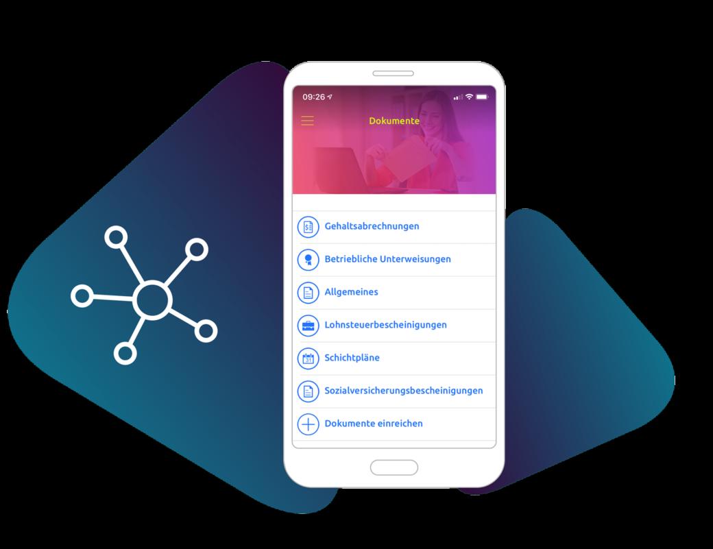 Dokumente an Mitarbeiter via App zustellen