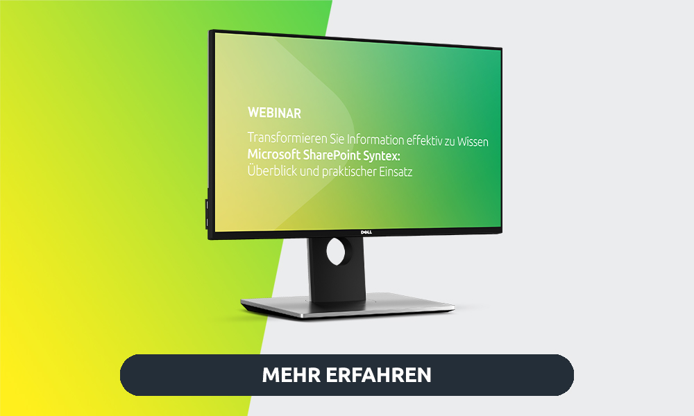 Webinar Microsoft Syntex