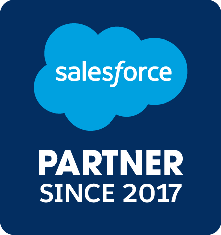 Badge d.velop AG ist Salesforce Partner seit 2017