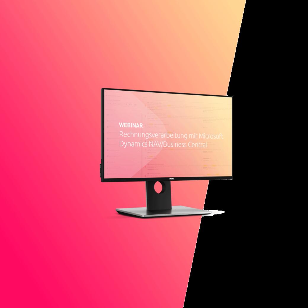 Webinar Rechnungsverarbeitung mit Dynamics 365