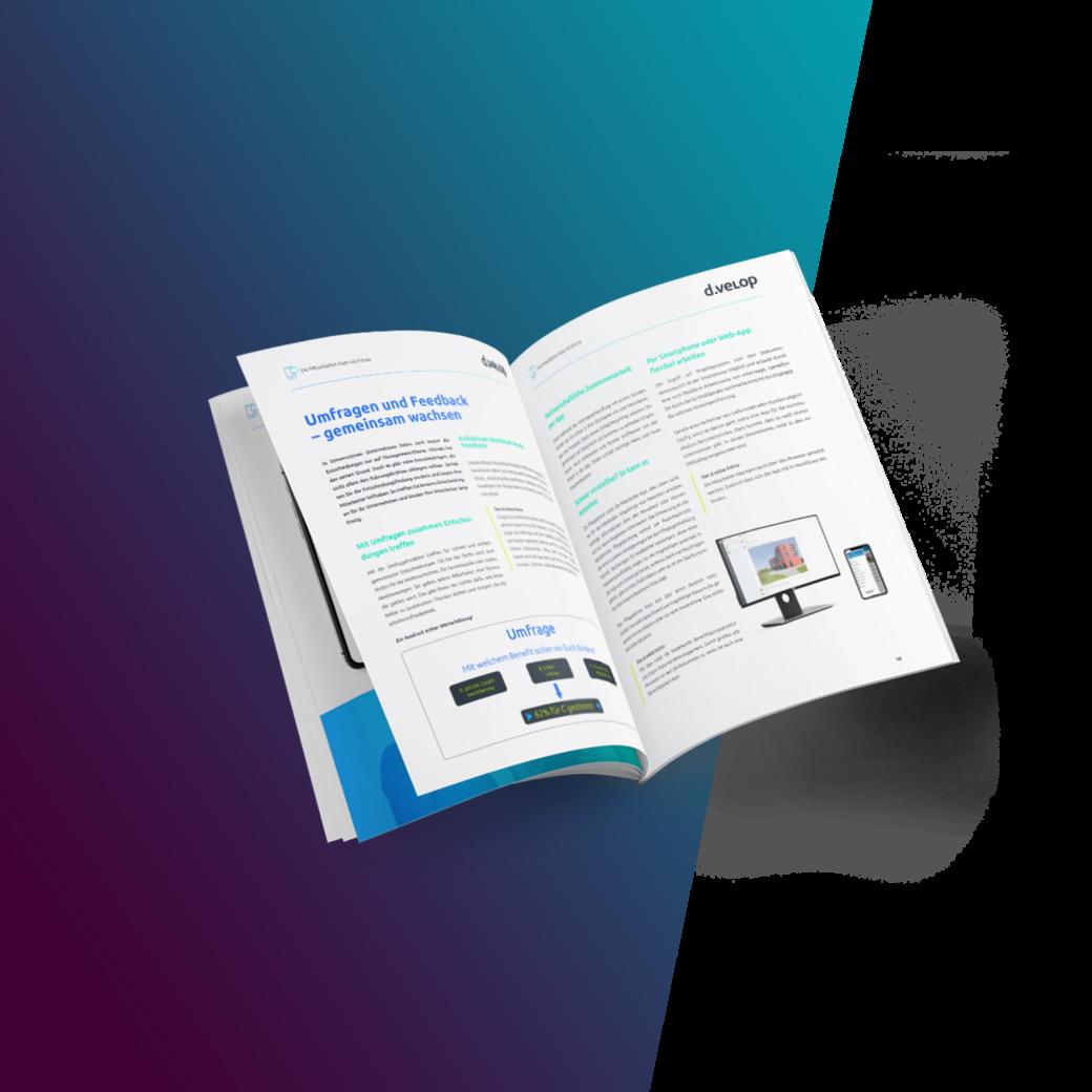 Erfahren Sie im Whitepaper, welche Funktionen und Features Ihrer Mitarbeiter-App das gewisse Extra verleiht und somit ein klarer Hit für Mitarbeiter innerhalb und außerhalb Ihres Unternehmens wird.