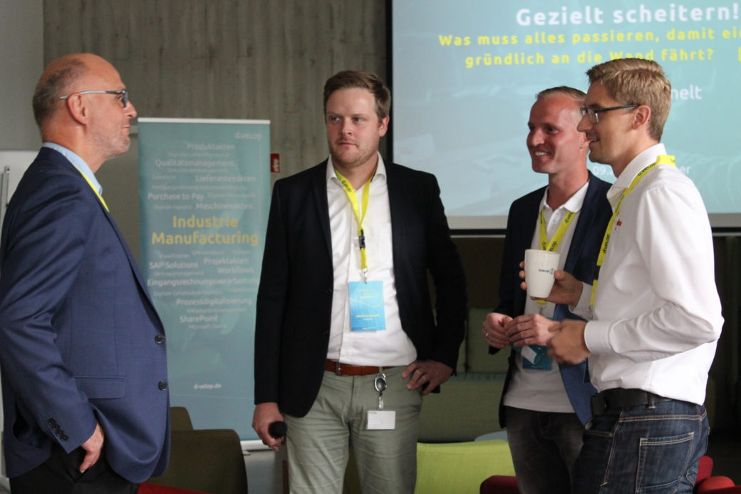 Networking auf dem Innovation for Industry