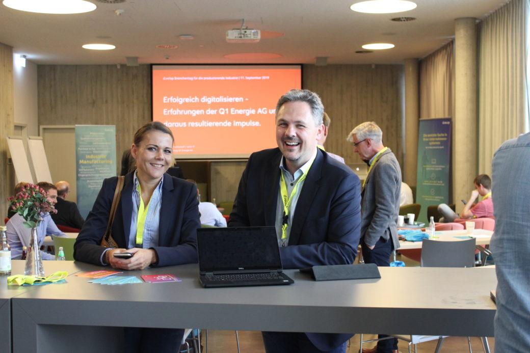 Partner auf dem Innovation for Industry