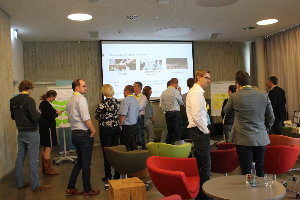 Workshop auf dem Innovation for Industry