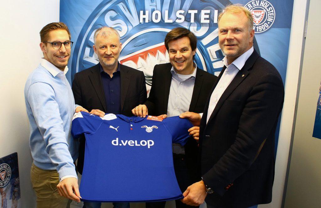 d.velop ist Sponsor der eSports Team Holstein Kiel