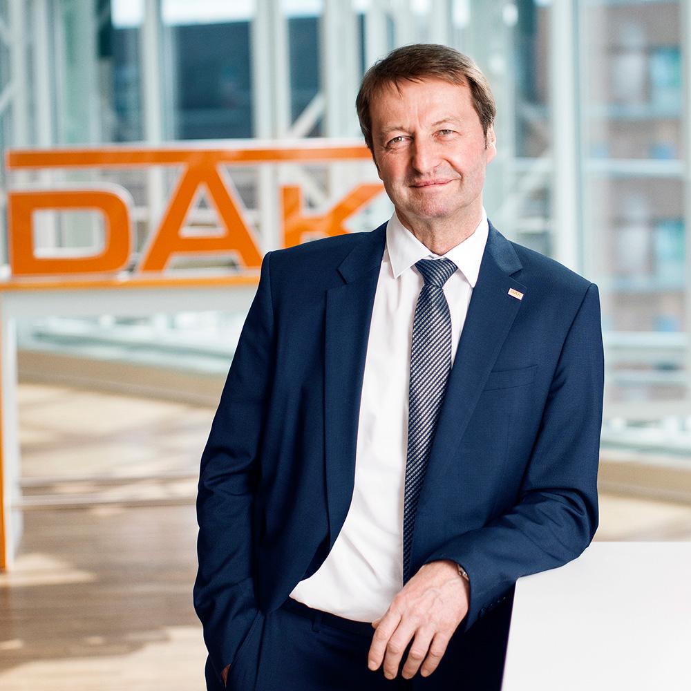 Thomas Bodmer, Mitglied des Vorstands der DAK-Gesundheit