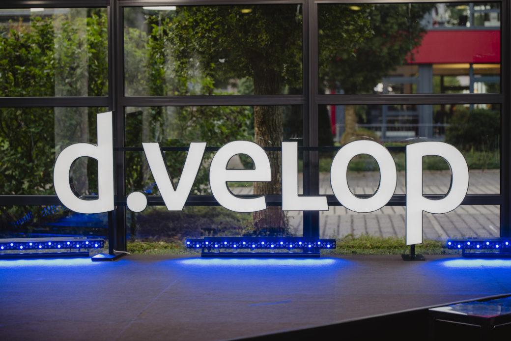 Das digitale d.velop forum fand 2021 komplett auf dem d.velop campus am Hauptsitz in Gescher statt